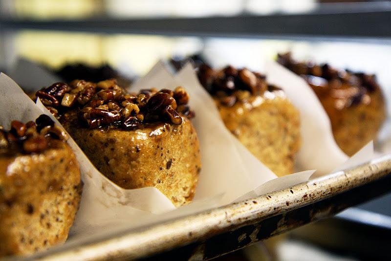 Caramelized Apple Walnut Cinnamon Rolls Recipe — Dishmaps